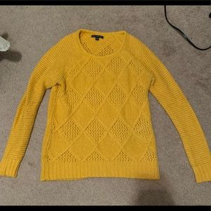 Gold/yellow American Eagle sweater, size small